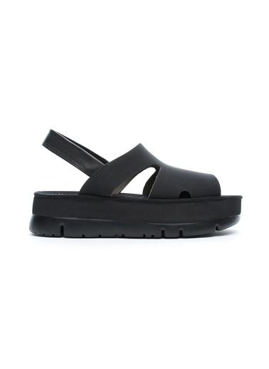 Camper Kadın Oruga Up Sandalet K200848.004 Siyah